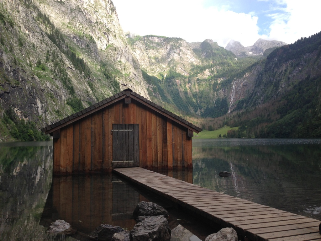 Lake Obersee, Berchtesgaden National Park, Germany July 4, 2013