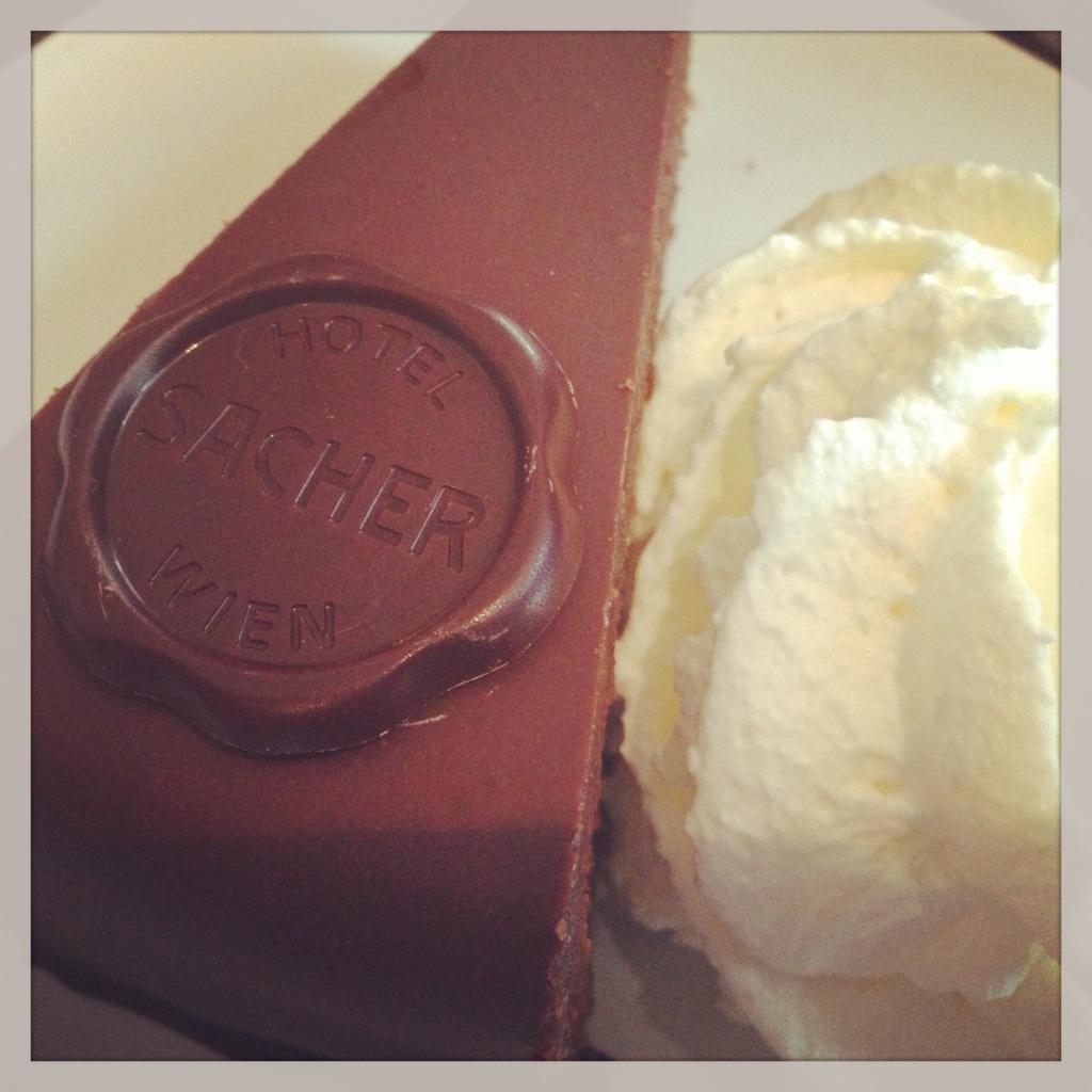The famous Sacher-Torte!