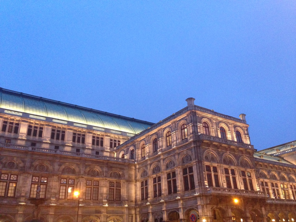 We saw Tosca in the Vienna Opera House.   Not a bad intro to Opera.