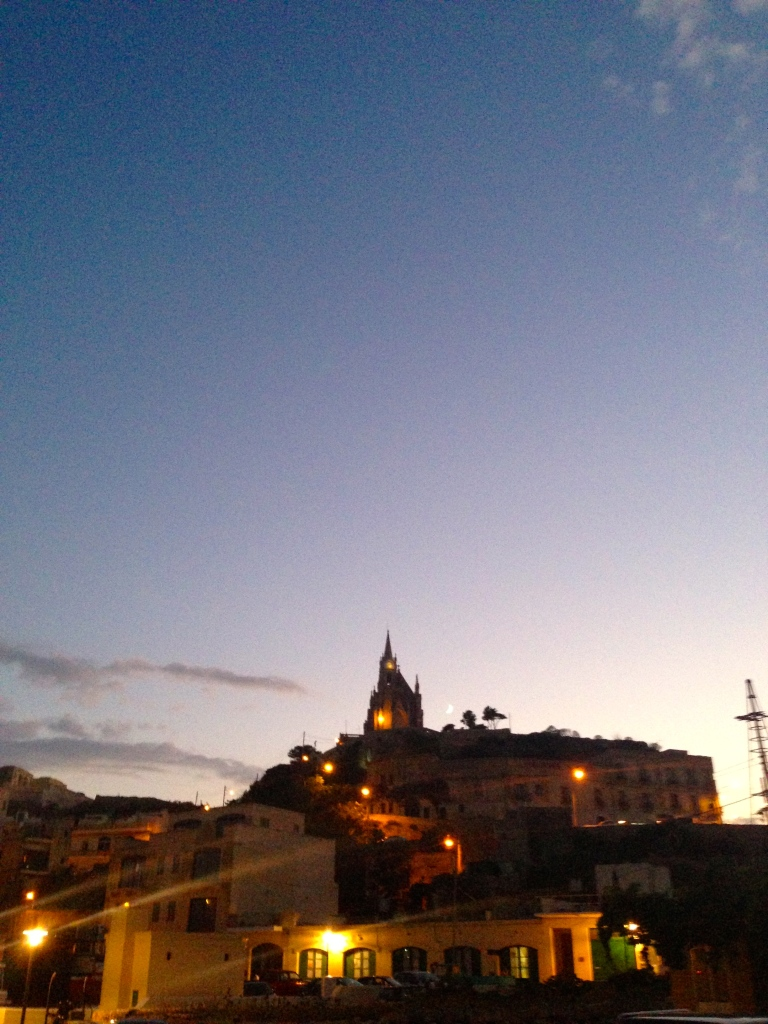 Sunset on Gozo
