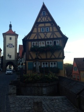 After the trip, I learned Rothenburg was the inspiration for the town in Disney's Pinocchio!